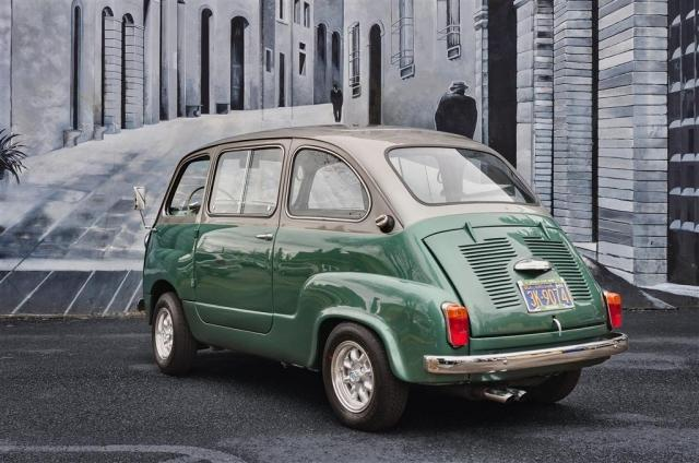 Custom Fiat 600 Multipla Microvan Has No Equal - autoevolution