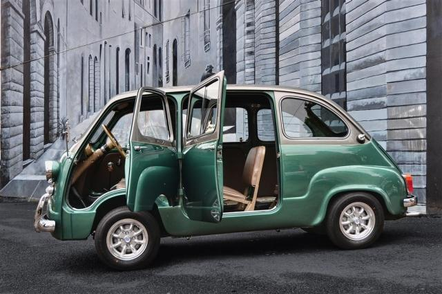Custom Fiat 600 Multipla Microvan Has No Equal Autoevolution
