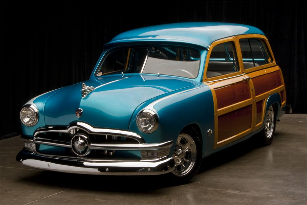 Custom Ford Hot Rod Woody Wagon Up for Grabs - autoevolution
