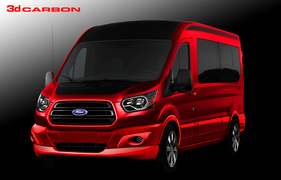 Custom Ford Transit Vans Heading to SEMA - autoevolution
