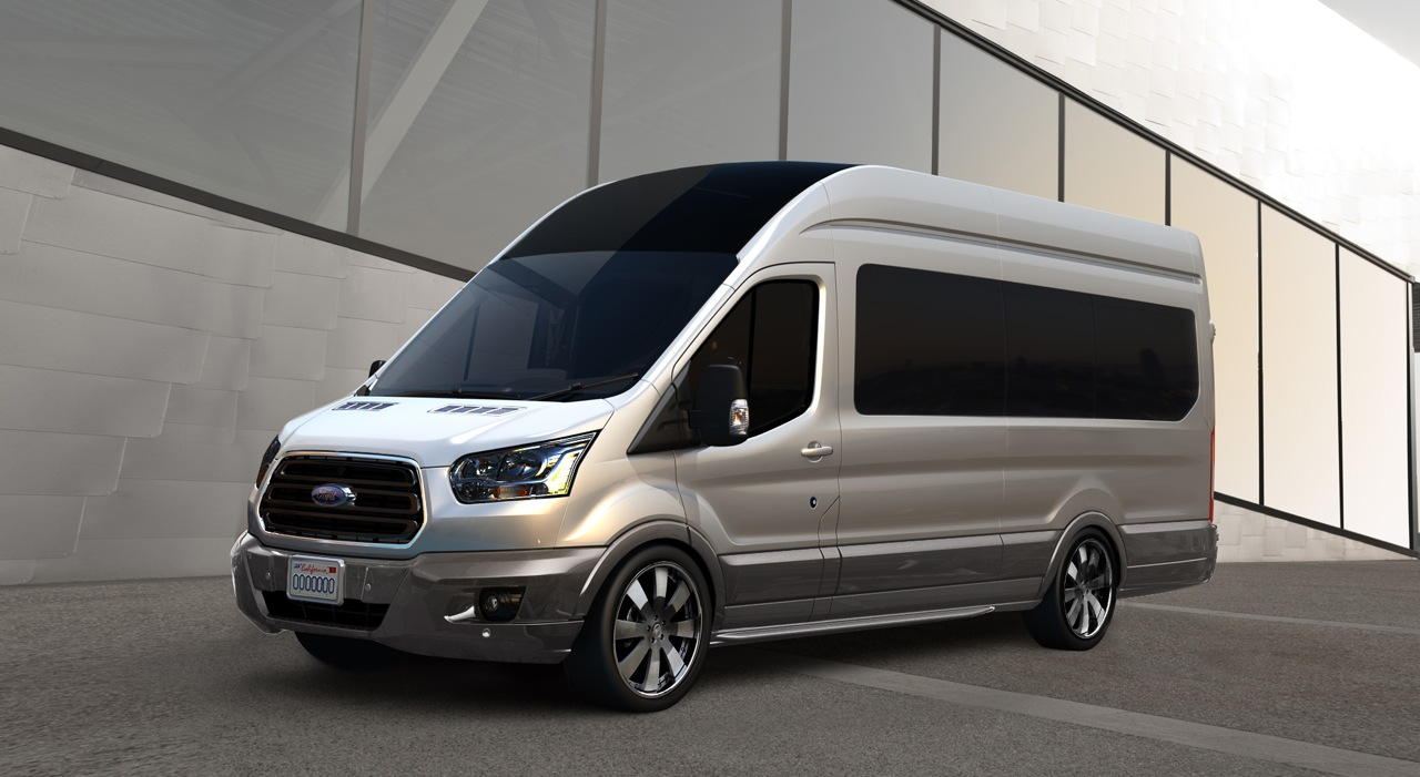 custom ford transit vans heading to sema autoevolution. Black Bedroom Furniture Sets. Home Design Ideas