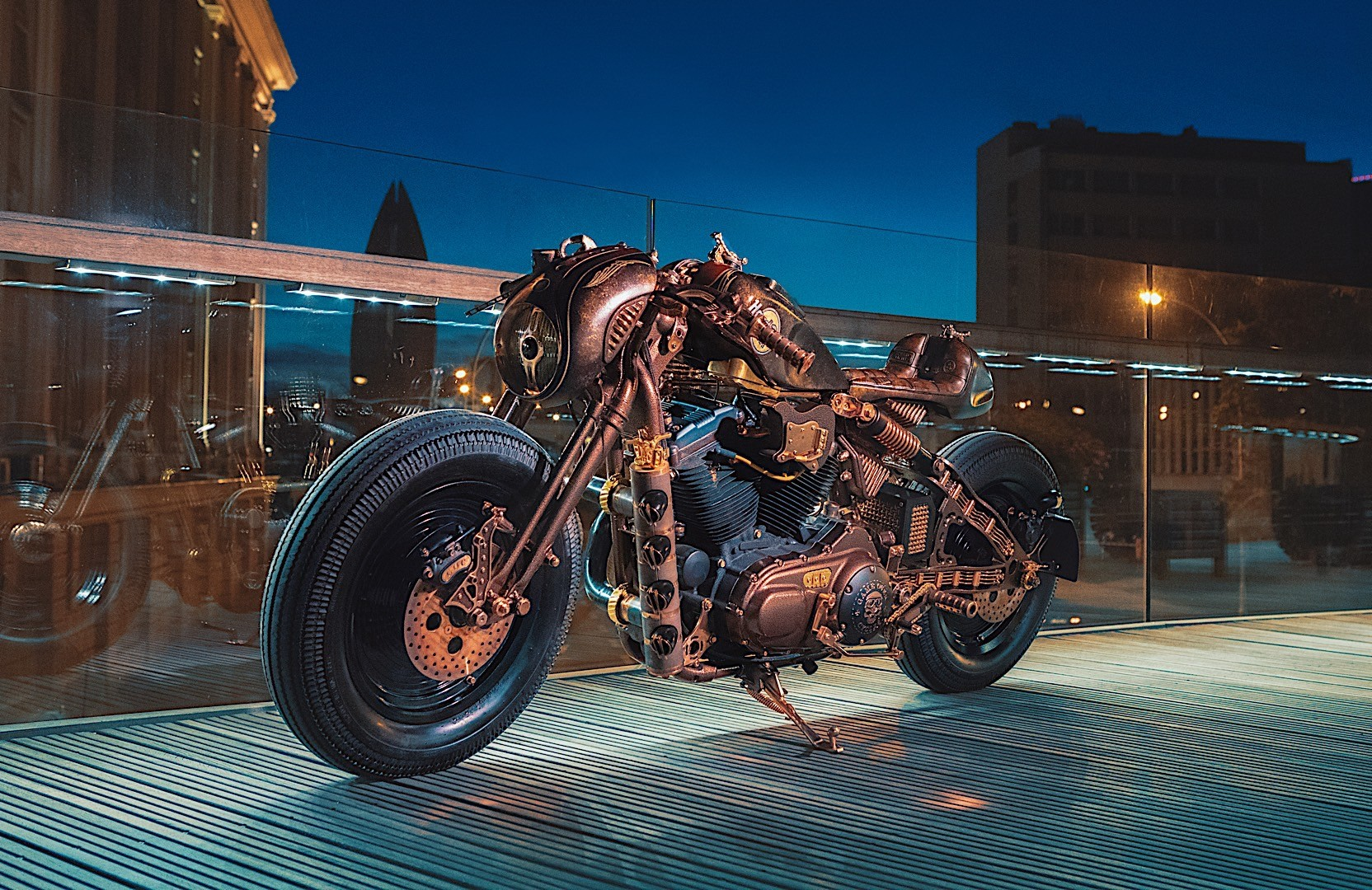 Custom Harley-Davidson By GOC Goes To Hard Rock Cafe Krakow ...
