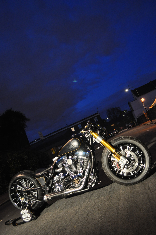 Infiniti Q50 Tires >> Custom Harley-Davidson Unorthodox by Charlie Stockwell ...