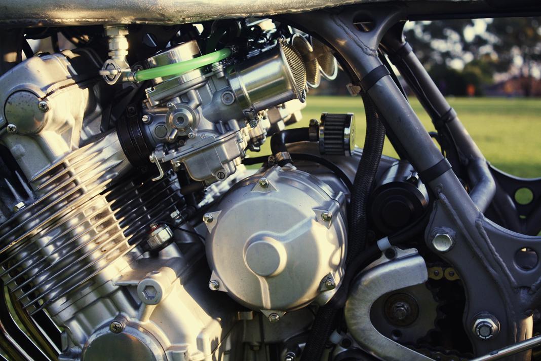 Custom Honda Cbx1000 Raw Is An Eye Popping Cafe Racer