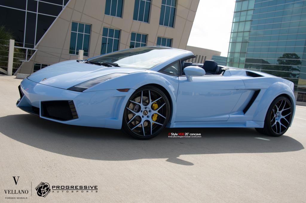 Custom Lamborghini Gallardo By Progressive Autosports