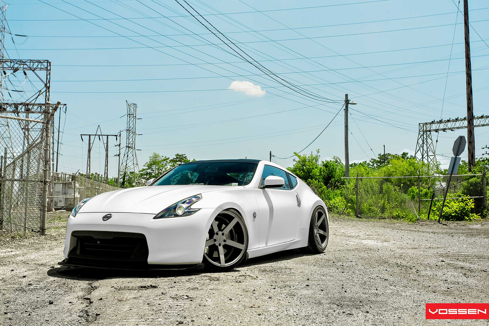 custom nissan 370z by vossen wheels autoevolution. Black Bedroom Furniture Sets. Home Design Ideas