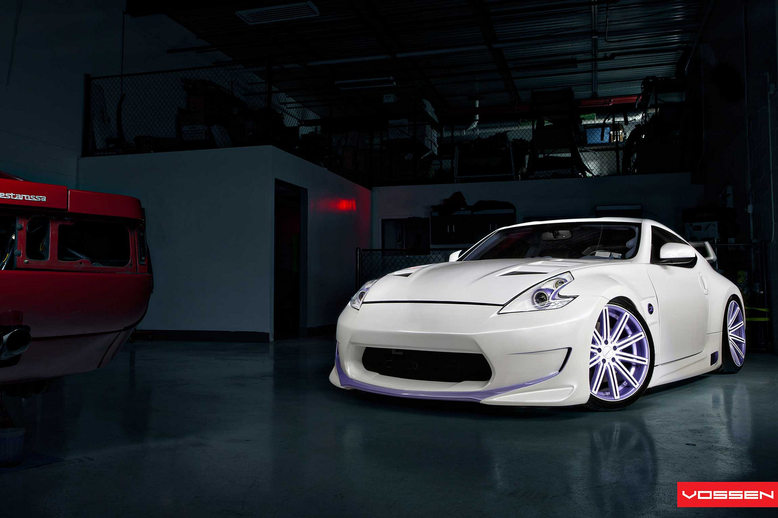 Custom Nissan 370z By Vossen Wheels Autoevolution