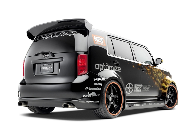 Custom Scion xB Proves Boxes Can Be Cool - autoevolution