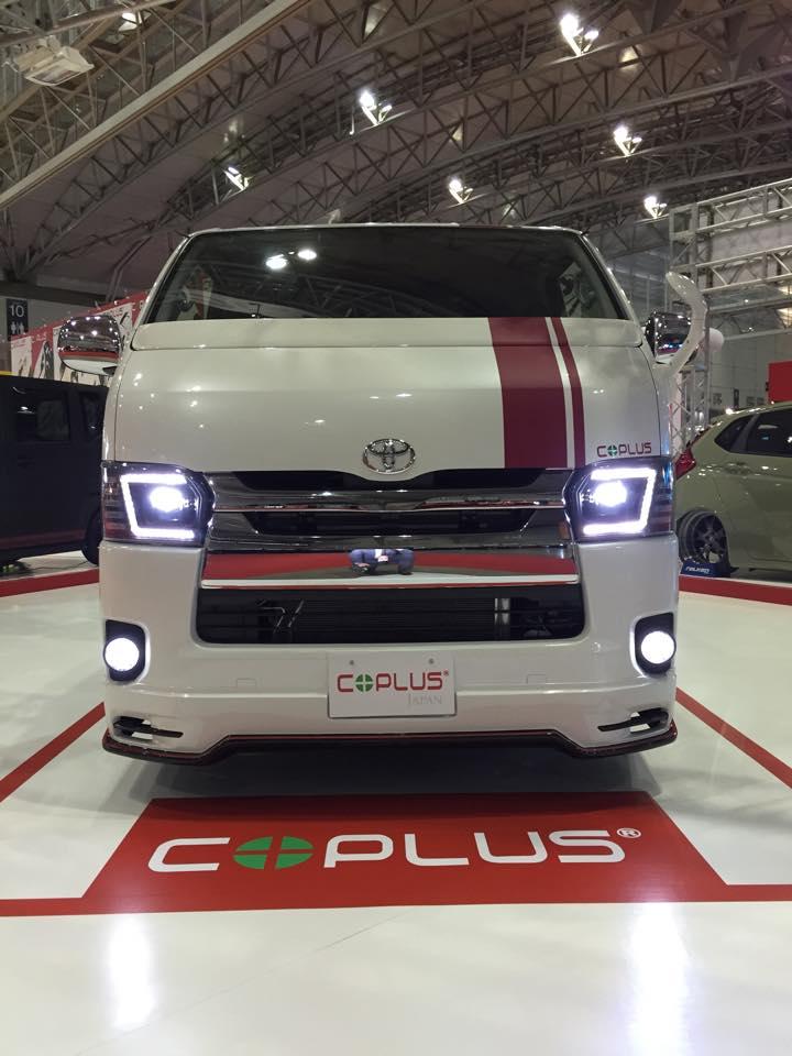 Custom Toyota Hiace Minivan Gets Full LED Headlights from ...