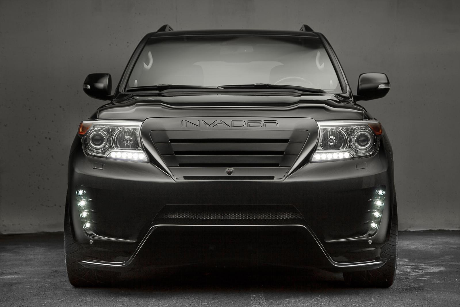 Custom Toyota Land Cruiser Looks Vicious - autoevolution