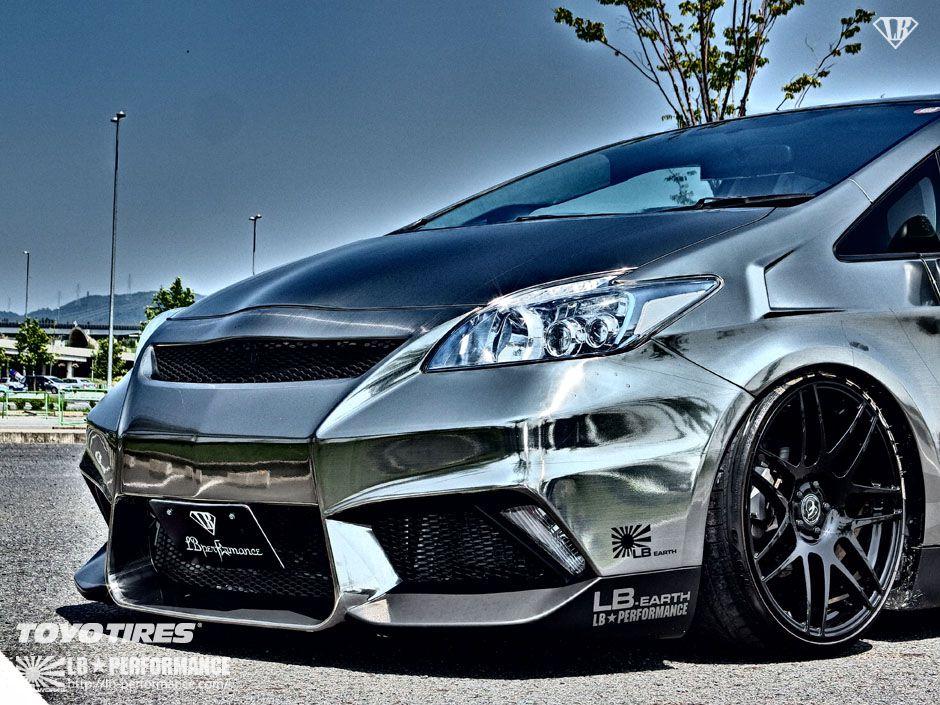Custom Toyota Prius Looks Ready To Rip The Track