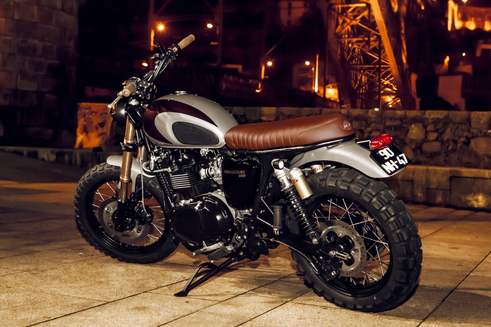 Custom Triumph Scrambler By Ton Up Garage Autoevolution