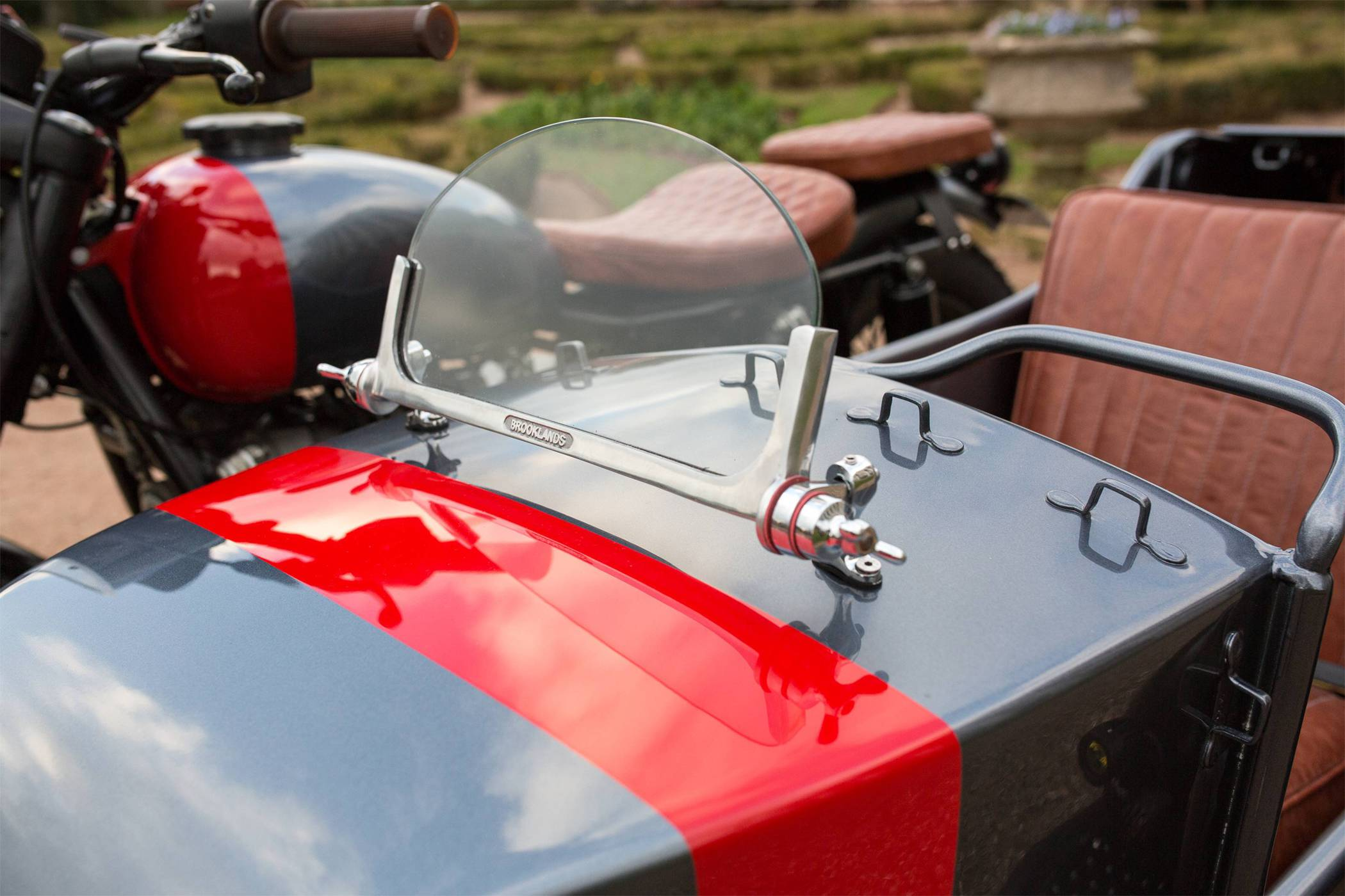 Custom Ural Sidecar Has Room for Four and We Love It