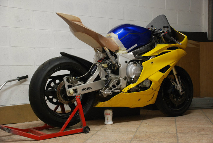 custom yamaha r6 by paolo tesio autoevolution. Black Bedroom Furniture Sets. Home Design Ideas