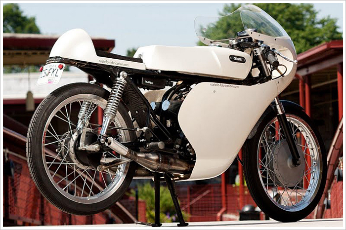 Custom Yamaha Rd By Costello Fabrications on Cafe Racer Wiring