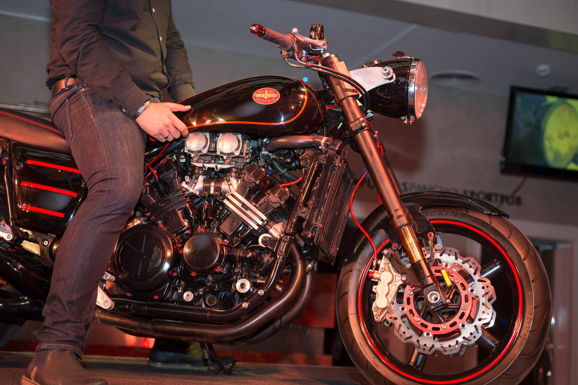 lupus alpha the new russian muscle bike is in fact all italian