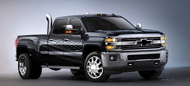 "Customized 2016 Chevrolet Silverado Was Inspired by Kid Rock's ""Born Free"" Song - autoevolution"