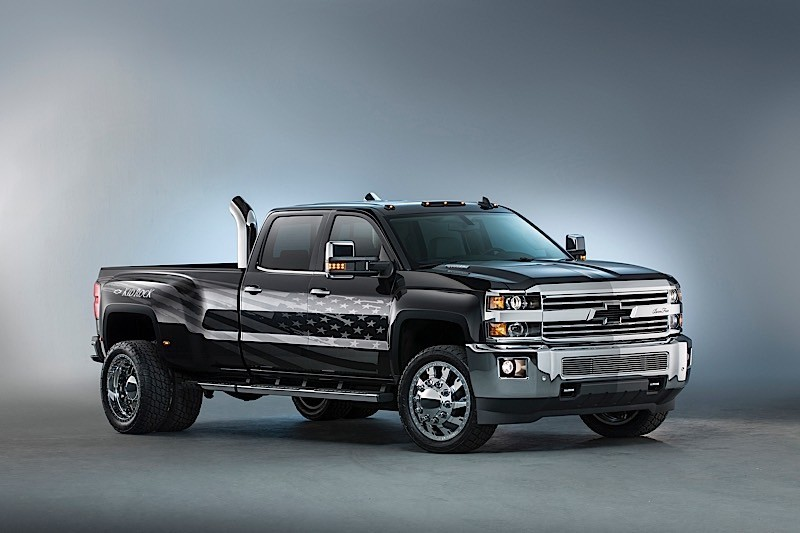 Customized 2016 Chevrolet Silverado Was Inspired By Kid