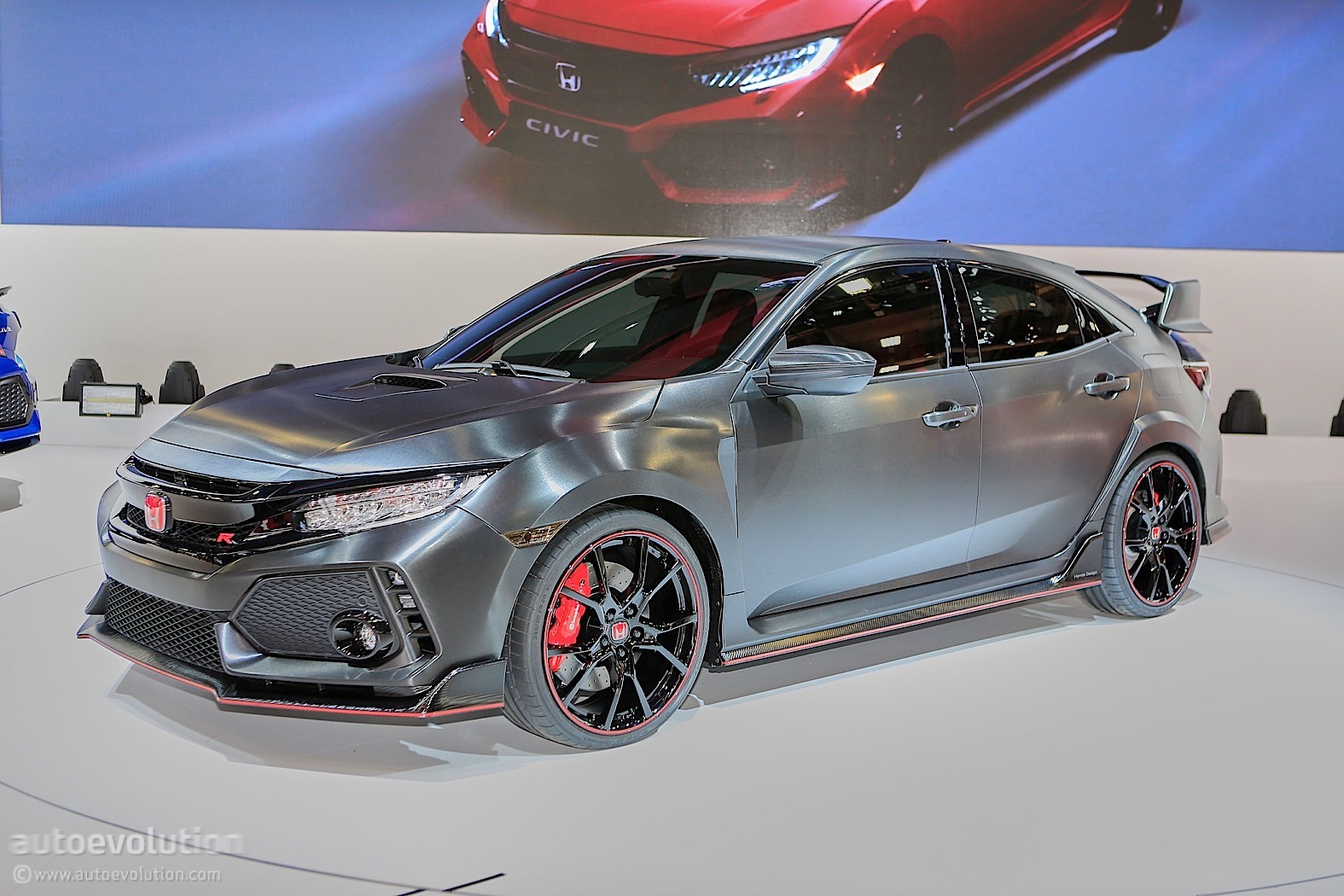 UPDATE: CVT Is (NOT) Go For the 2018 Honda Civic Type R - autoevolution