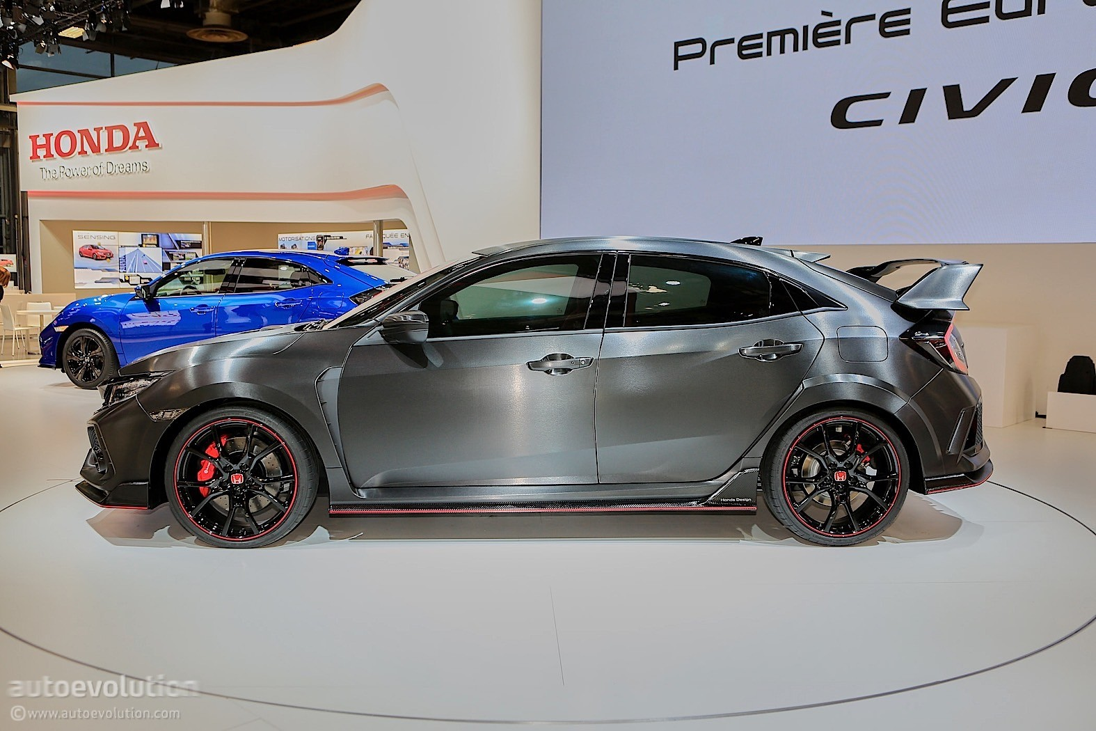 ... : CVT Is (NOT) Go For the 2018 Honda Civic Type R - autoevolution