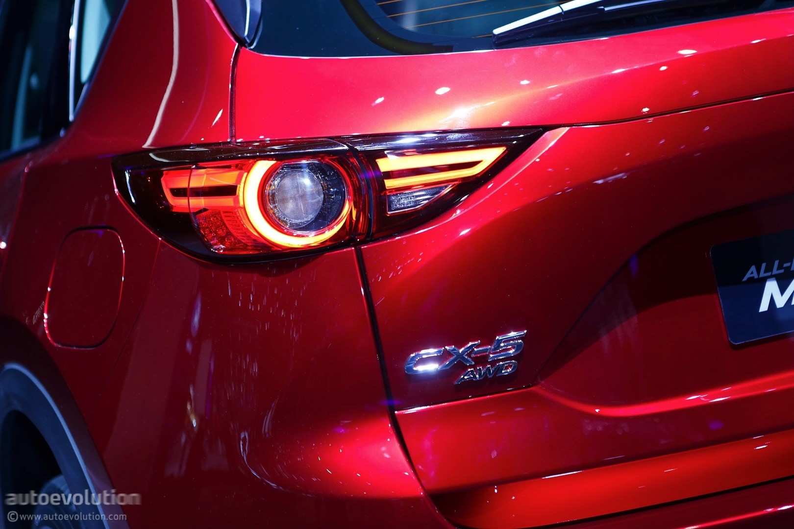 2017 mazda cx-5 brags with soul red crystal paintwork in geneva