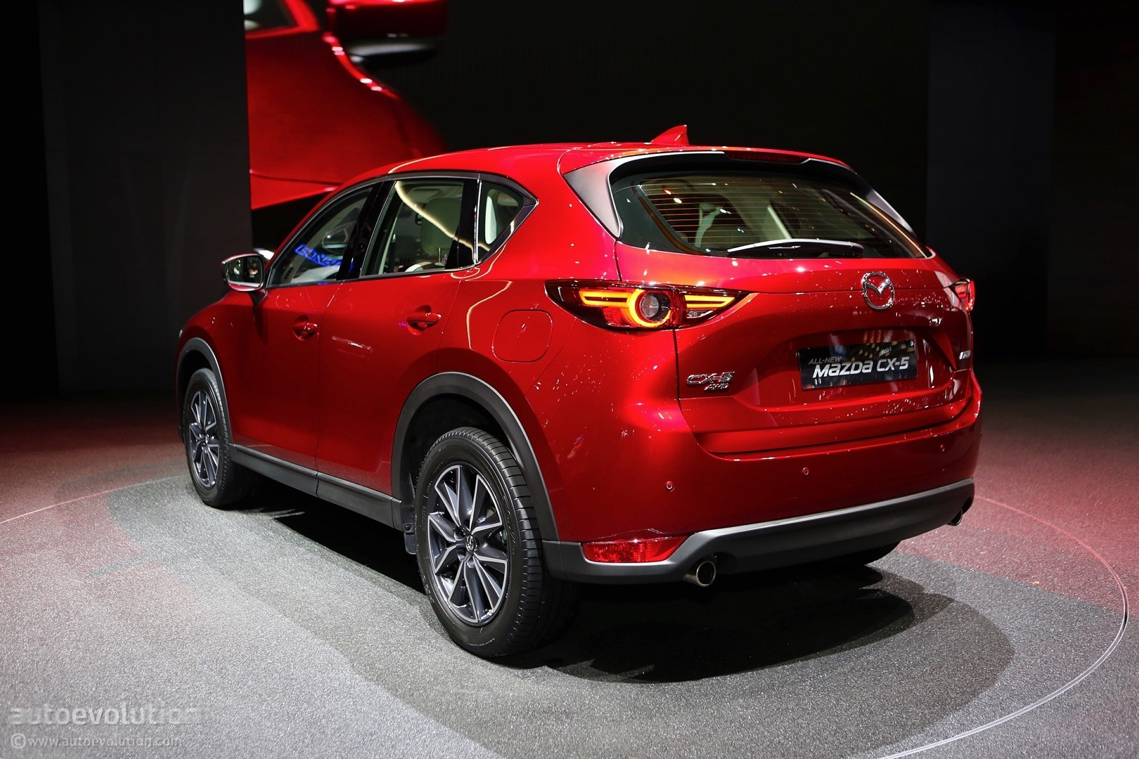 2017 Mazda CX-5 Brags With Soul Red Crystal Paintwork In Geneva ...