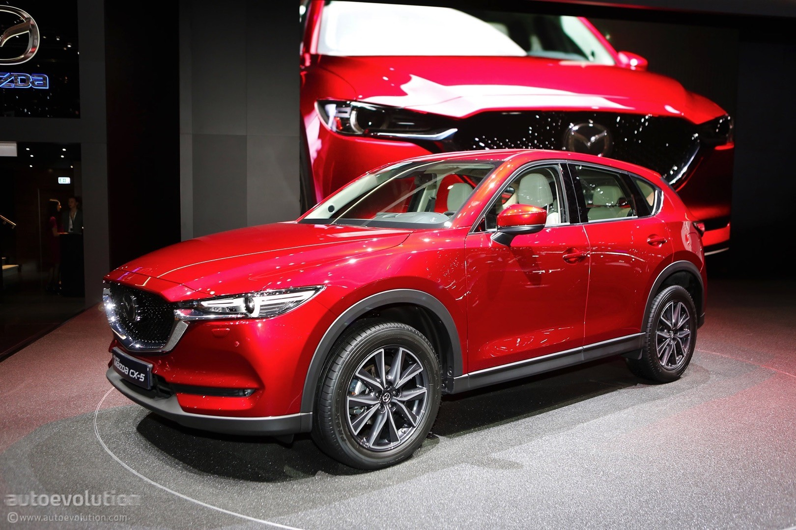 Tesla Update >> 2017 Mazda CX-5 Brags With Soul Red Crystal Paintwork In Geneva - autoevolution