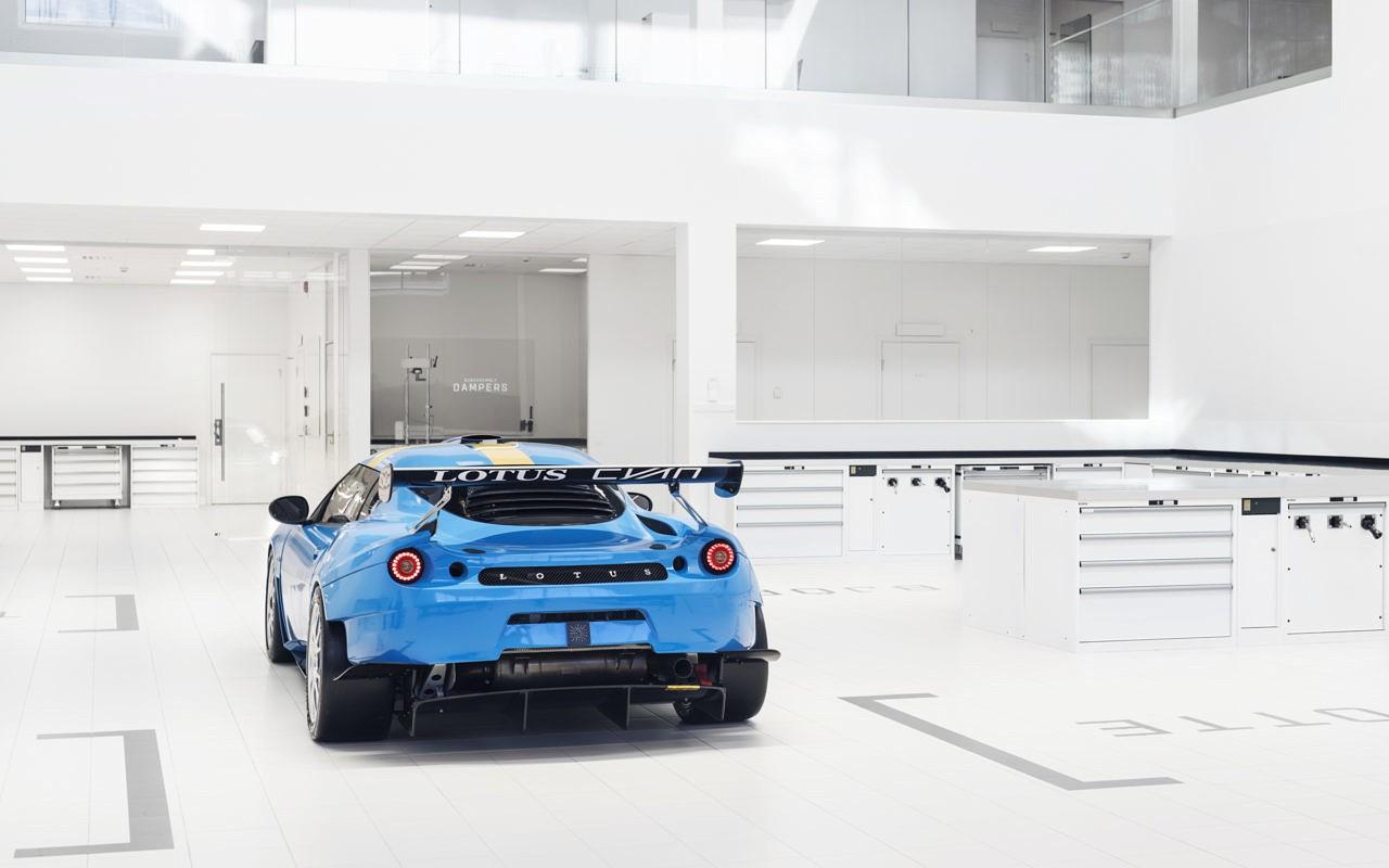 Lotus Cyan Racing Reveals Evora GT4, Will Race in The 2018 Swedish GT - autoevolution