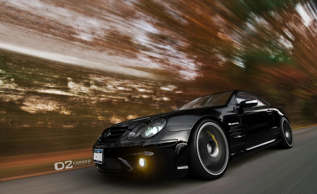 D2Forged Wheels for Mercedes SL55 AMG - autoevolution