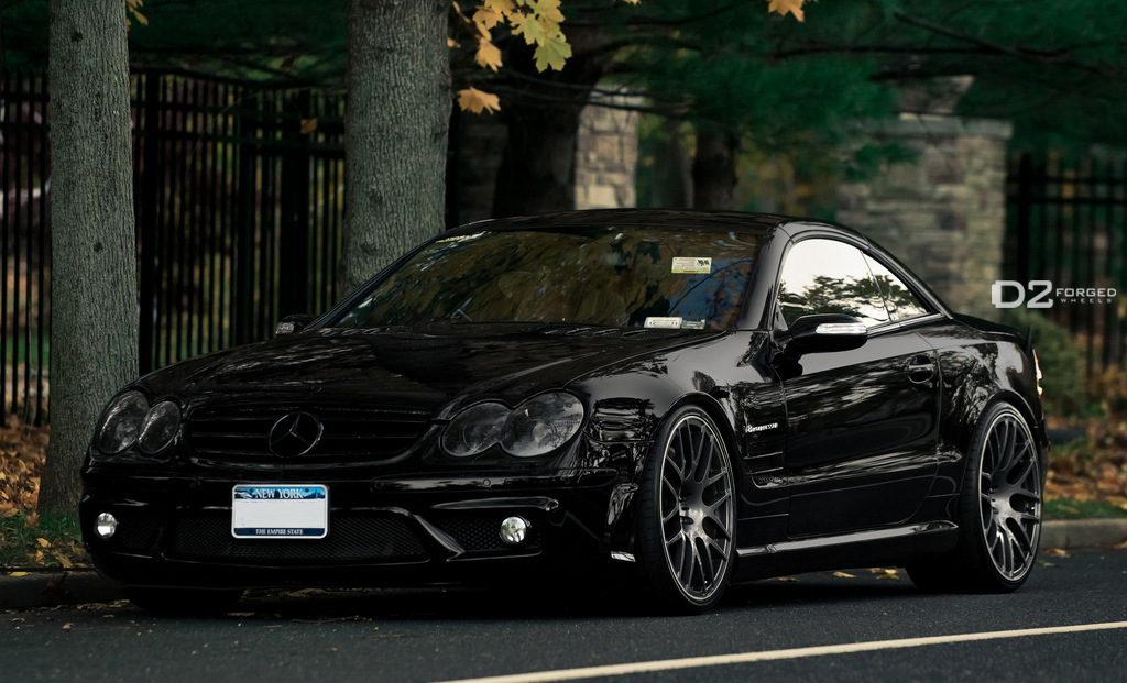 D2forged Wheels For Mercedes Sl55 Amg