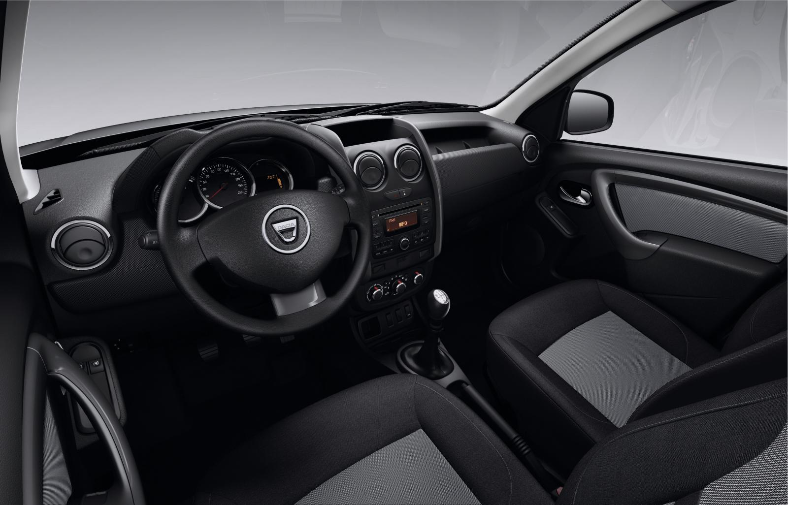 Dacia announces logan and sandero models with easy r for Interieur nouveau duster