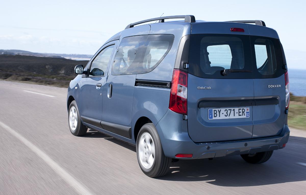 Dacia Dokker And Dokker Van Full Specs Autoevolution