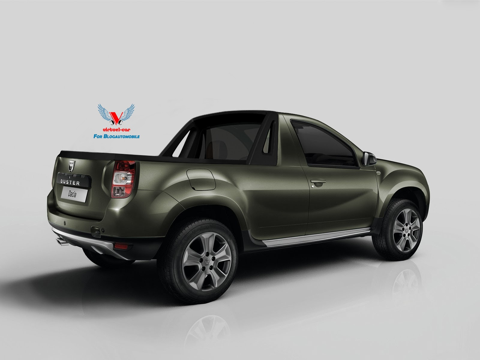 Dacia Duster Facelift Pickup Truck Yes Please Autoevolution