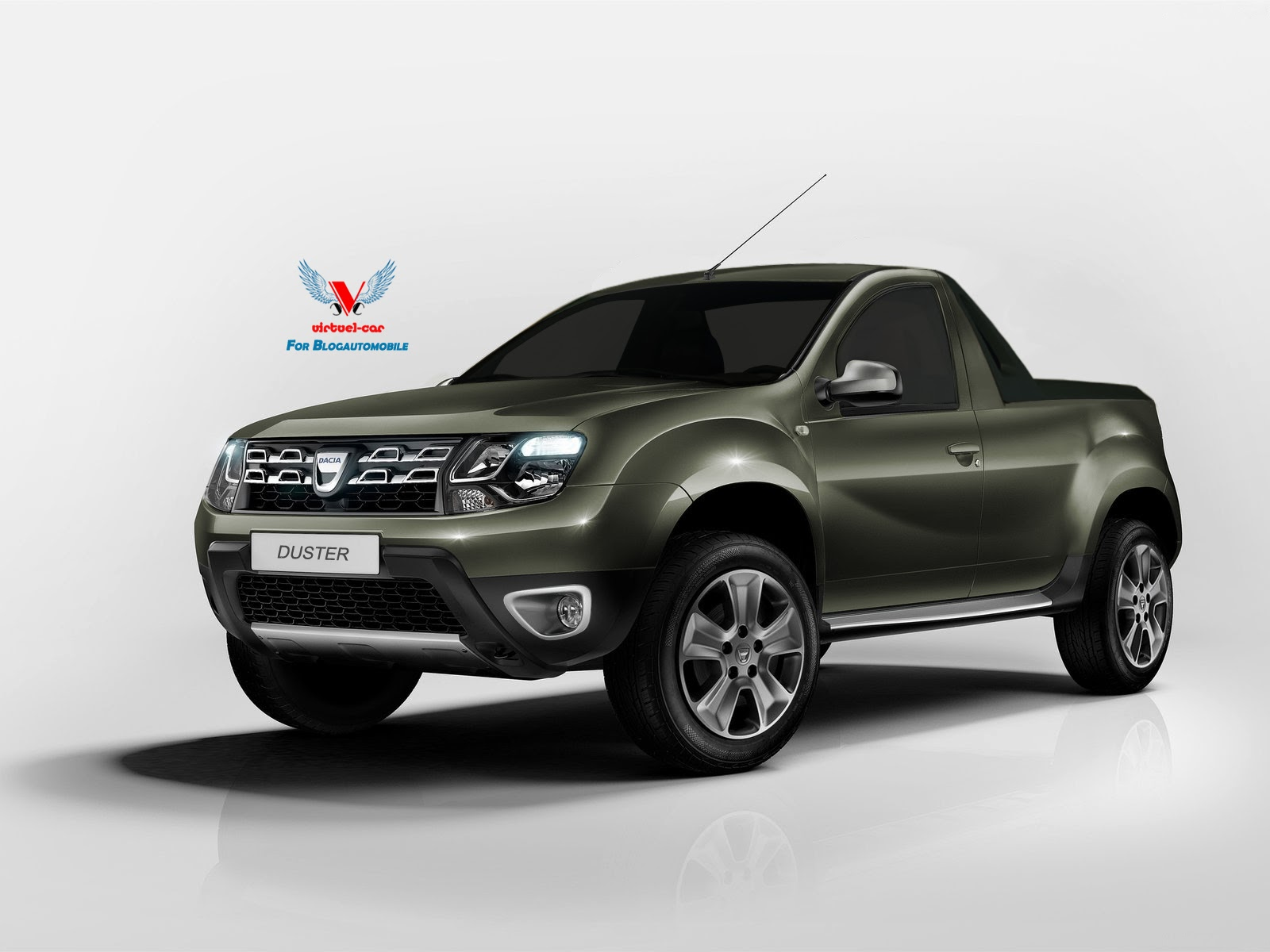 dacia duster facelift pickup truck yes please autoevolution. Black Bedroom Furniture Sets. Home Design Ideas