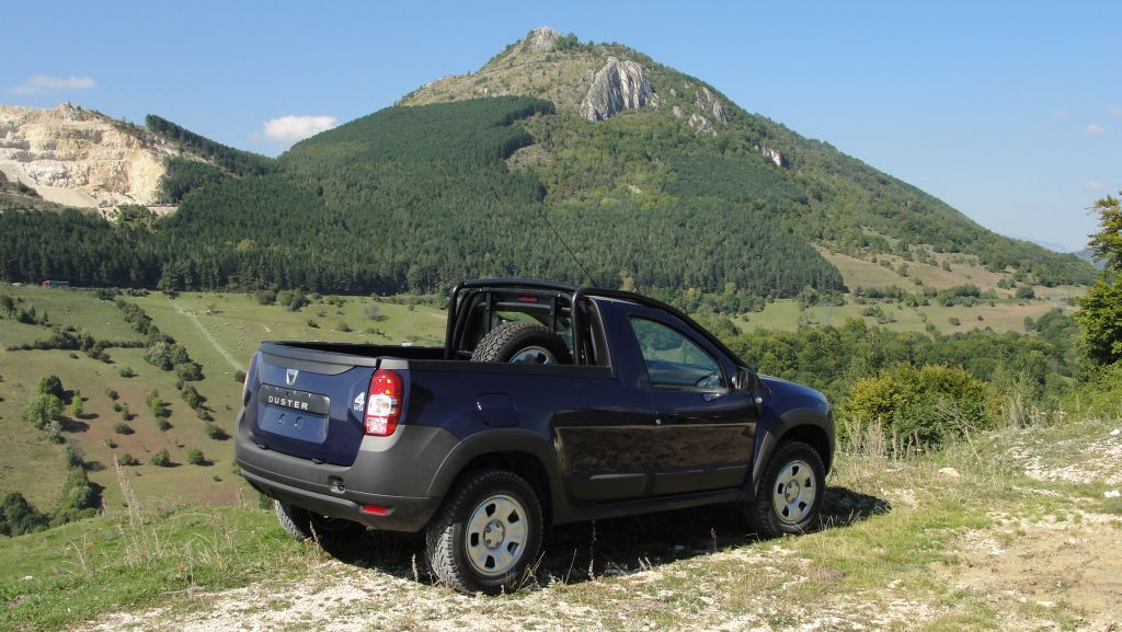 dacia duster pick up launched as limited production model. Black Bedroom Furniture Sets. Home Design Ideas