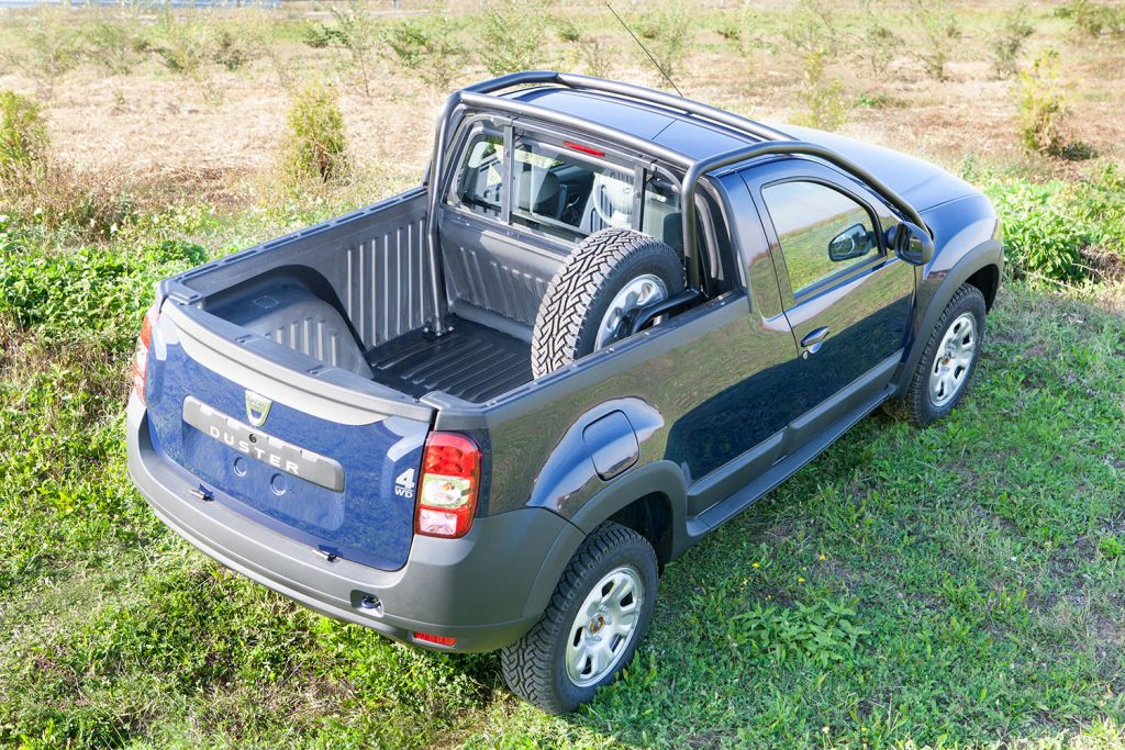 Dacia Pickup 2017 >> Dacia Duster Pick-Up Launched as Limited Production Model - autoevolution