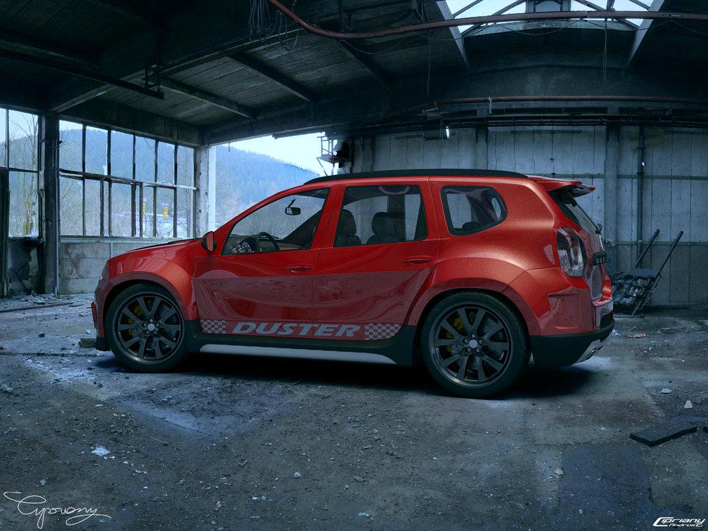 Dacia Duster Receives Virtual Tuning Autoevolution