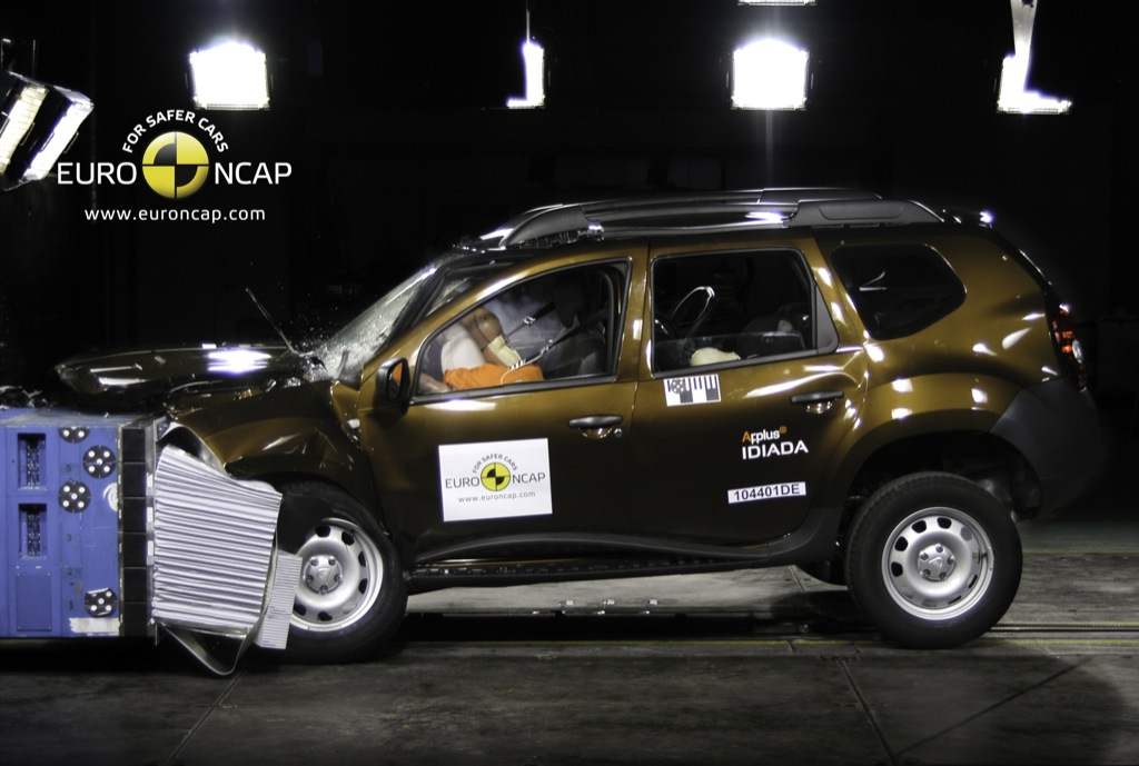 dacia duster suv scores only 3 stars in euro ncap crash tests autoevolution. Black Bedroom Furniture Sets. Home Design Ideas
