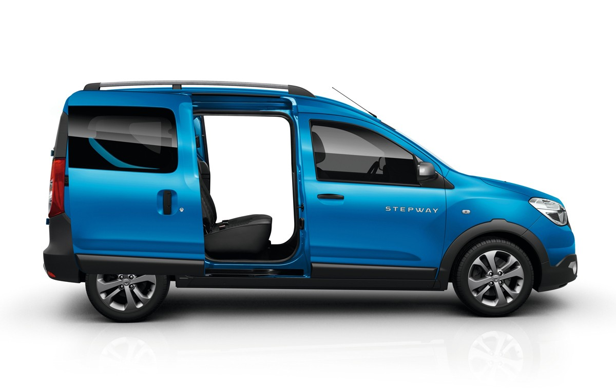 dacia lodgy stepway and dokker stepway pricing announced autoevolution. Black Bedroom Furniture Sets. Home Design Ideas