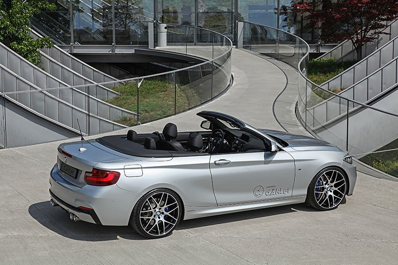 Dahlers BMW M235i Cabrio Has 390 HP and Matches the M4 in