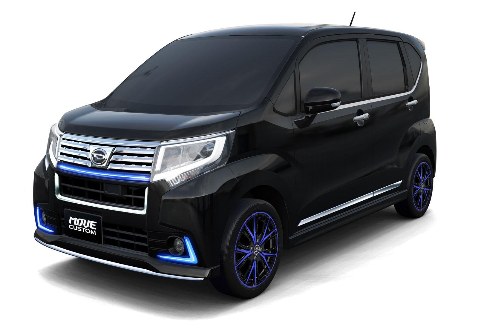 Daihatsu Exhibits 11 Concept Cars at the Tokyo Auto Salon ...
