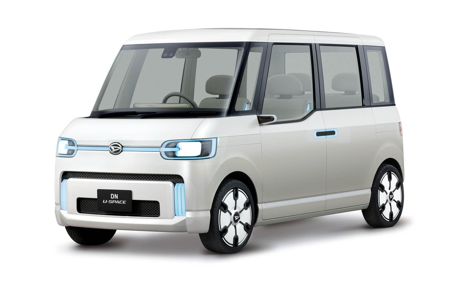 Daihatsu DN Compagno Is a Bubble Retro Sedan from Japan ...