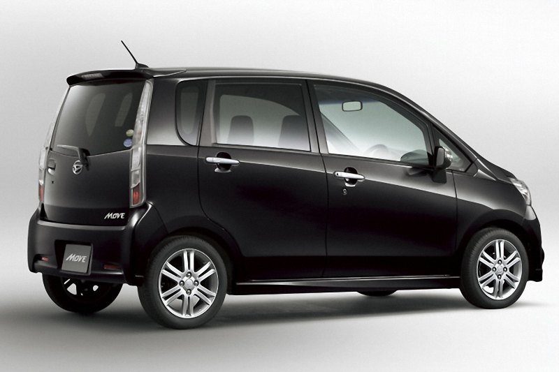 daihatsu move launched photos released autoevolution. Black Bedroom Furniture Sets. Home Design Ideas