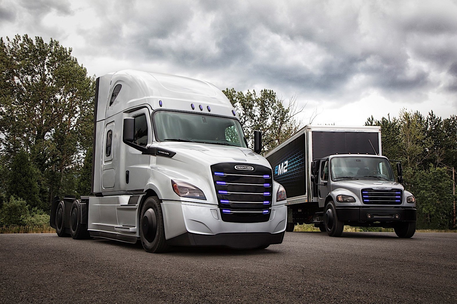 Mercedes Long Beach >> Daimler Reveals Testing Areas for Freightliner Electric Trucks - autoevolution