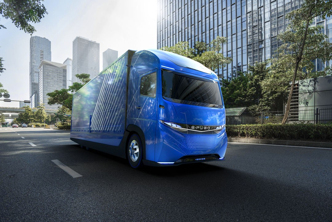 Fuso concept kicks off Daimler's electric plans for all trucks, buses