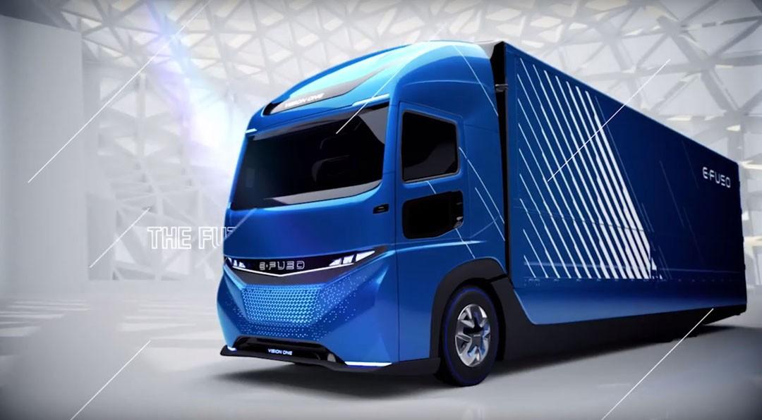 Scania Truck 2018 >> Daimler's E-FUSO Concept Is a 23-Ton All-Electric Tesla Semi Rival (of Sorts) - autoevolution