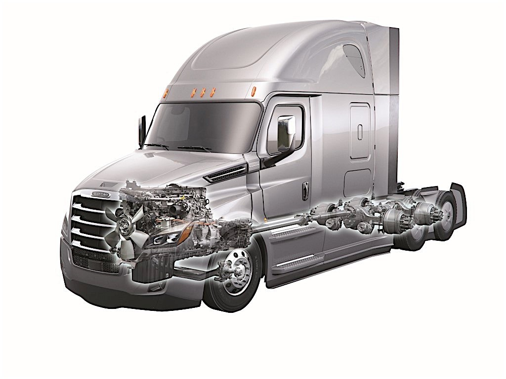 Daimler trucks receives major order for mercedes benz for Freightliner mercedes benz