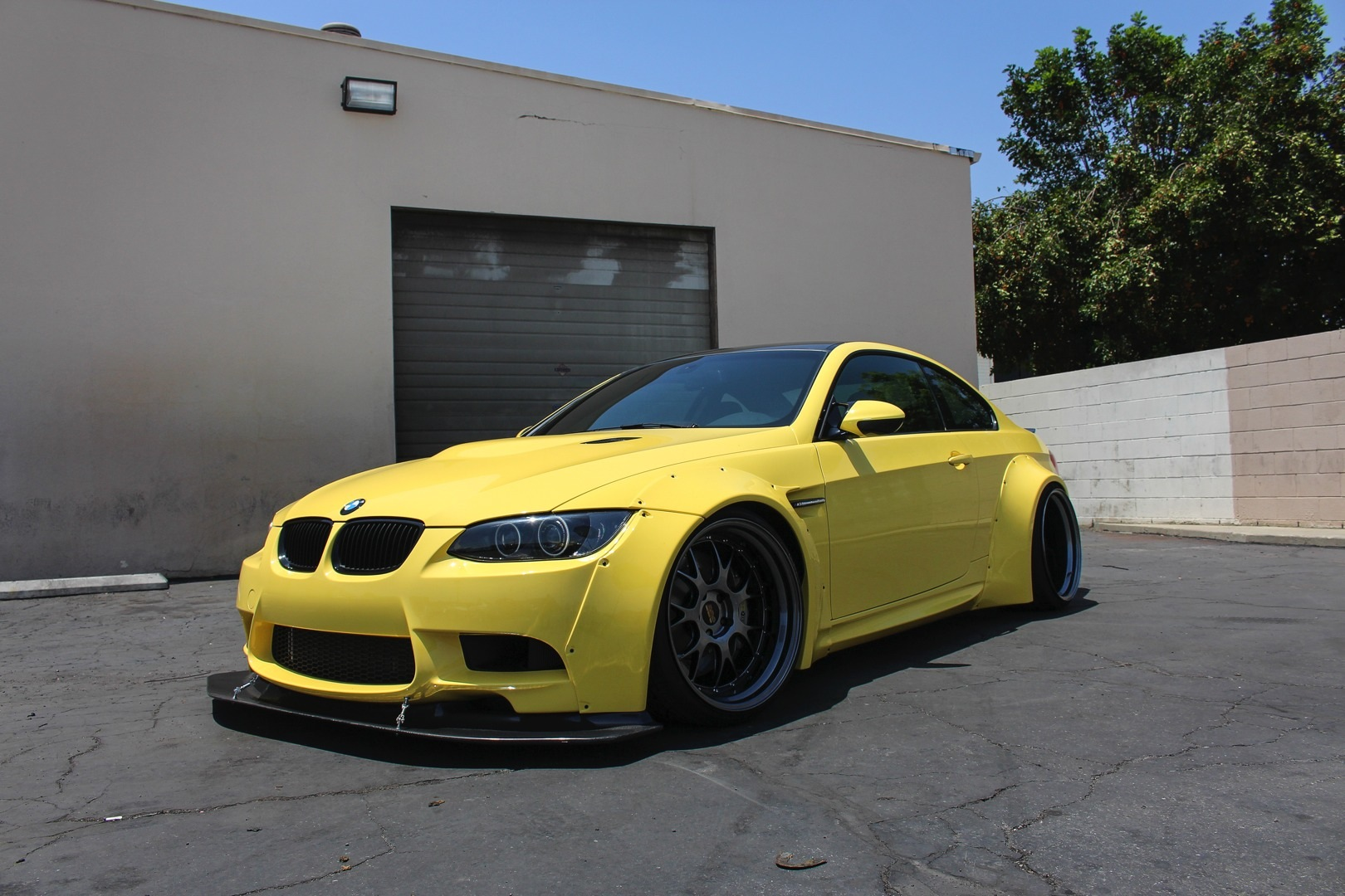 Dakar Yellow Bmw E92 M3 Is Built Not Bought Autoevolution