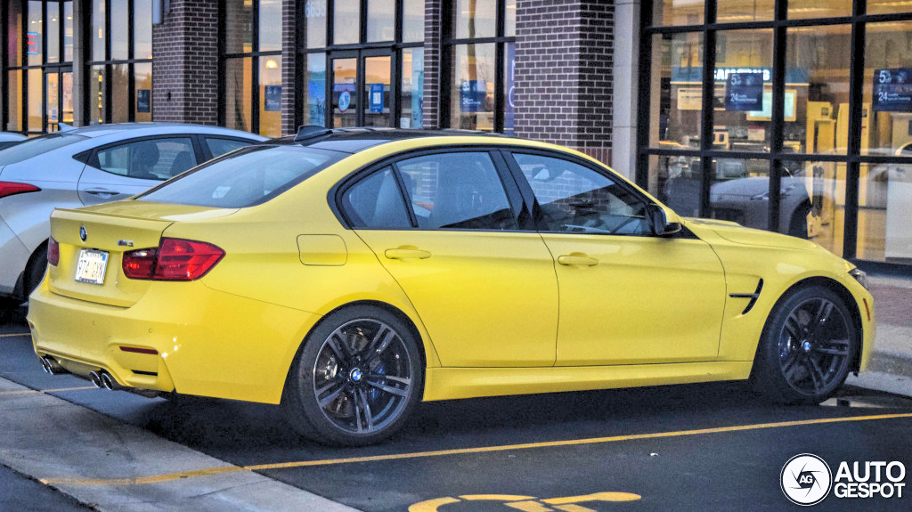 Ford Focus Tires >> Dakar Yellow BMW F80 M3 Spotted in Kansas - autoevolution