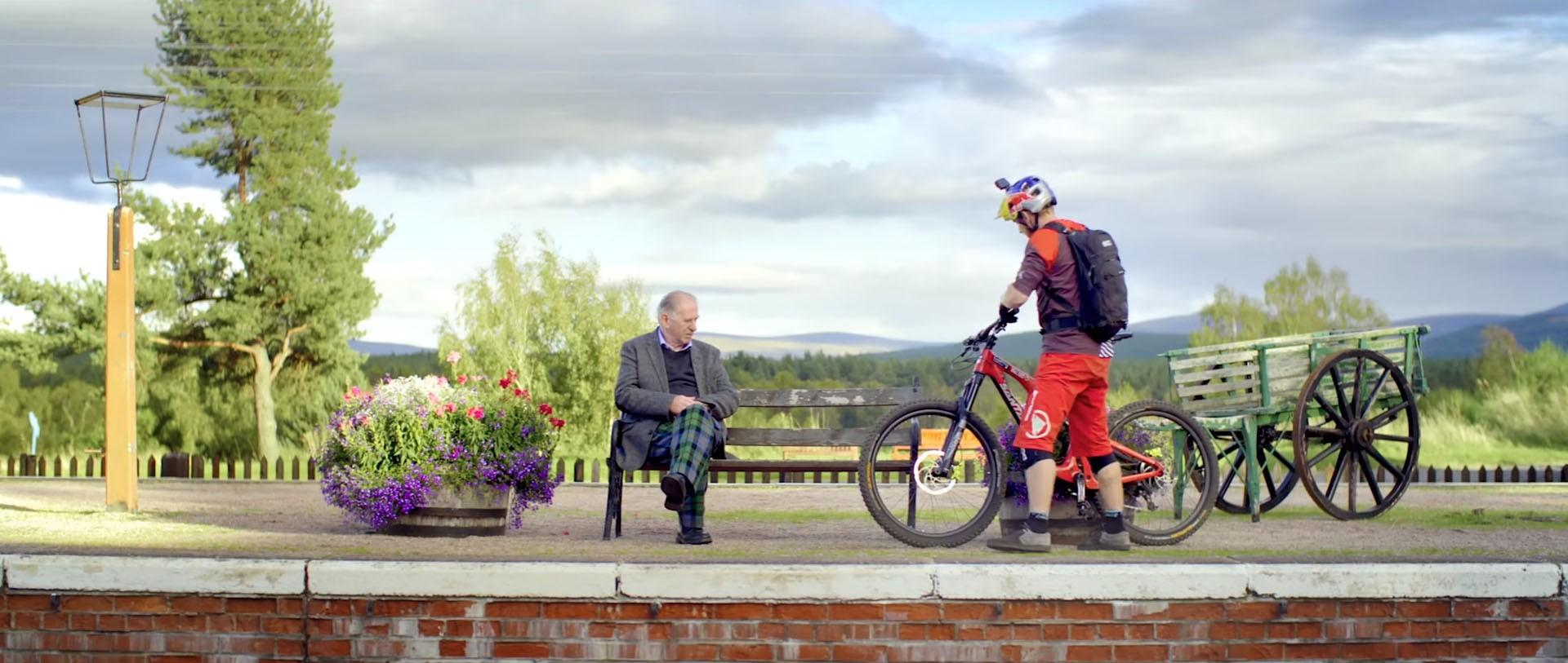 danny macaskill s latest clip is a tourism brochure for scotland   autoevolution